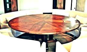 rotating expanding table round table plans rotating expanding table plans expanding round table plans round table