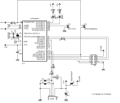 embedded engineering usbasp usb programmer for atmel avr schematic