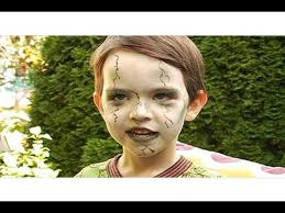 zombie makeup for kids tutorial