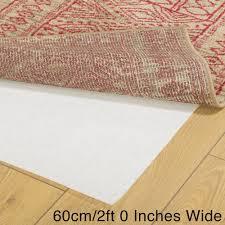 anti slip runner rug underlay 60cm width non slip rug62