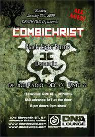 Animal Black Light Burns Dna Lounge Live Combichrist 2009 01 25 Free Download