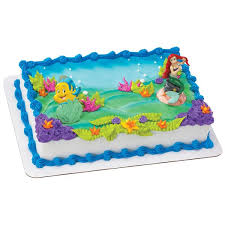 Little Mermaid Birthday Cake Publix Teamtessaorg