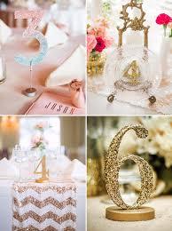 Glitters Diy Wedding Table Numbers