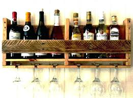 glass holder rack wine plans wooden wall mounted shelves ikea storage hold