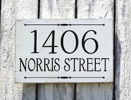 Wood Address Signs Outdoor Decor Outdoor Name Signs For House Outdoor Designs 31