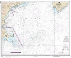 Gulf Of Maine Chart 13009 Gulf Of Maine And Georges Bank Nautical Chart