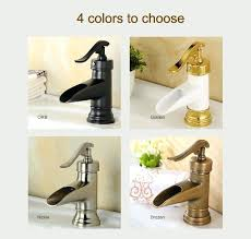 astonishing bronze waterfall bathroom faucet oil rubbed bronze square waterfall