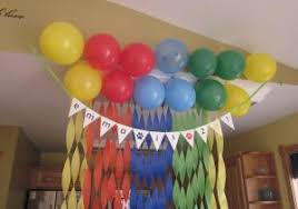 simple balloon decoration at home simple balloon decoration eman