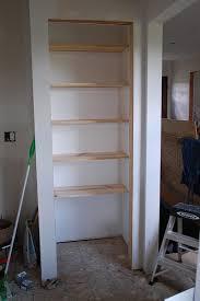 Organization 101 Building Basic Wood Shelves DIYdiva