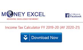 ine tax calculator fy 2019 20 ay