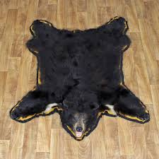 black bear taxidermy rug mount 12340 for the taxidermy