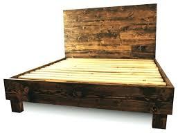 Slatted Platform Bed Wood Slats For Queen Bed Frame Unique Style Of ...