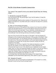 Write critique research paper Nambumarket com