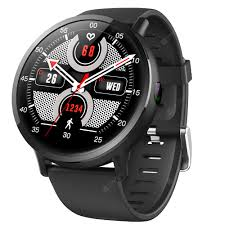 <b>LEMFO LEM X</b> 4G Smartwatch Phone Black Smart Watch Phone ...