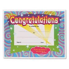 6 Pk) Certificate Congratulations   Pinterest   Certificate And Products