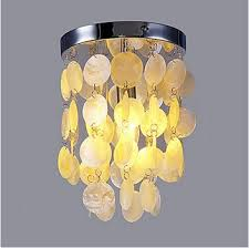 Image Diy Capiz Modern Shell Flush Mount Led Ceiling Lights For Living Room Lamp Home Lighting Fixturese141 Bulb Includedac 90v260vin Ceiling Lights From Lights Aliexpress Modern Shell Flush Mount Led Ceiling Lights For Living Room Lamp