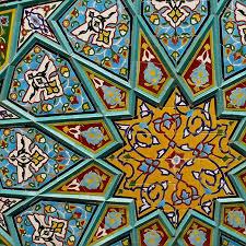 ceramic tile art patterns. Beautiful Ceramic Persiantiles At The Shah Sheragh Shrine Shiraz On Ceramic Tile Art Patterns T