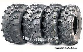 Set of 4 Premium ATV Tires 27x9-12 Front <b>27x12</b>-12 Rear <b>6PR</b> ...