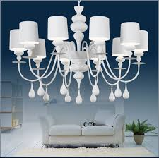 get ations pure white creative minimalist restaurant chandelier bedroom chandelier upscale living room chandelier drops gourd