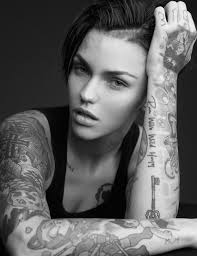 ruby rose orange is the new black wink. neaarty · follow. unfollow actressbeautifulgrungemodelshort hairtattoosruby roseorange is the new blackoitnb ruby rose orange black wink 7