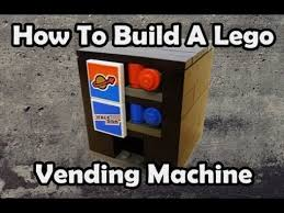 How To Make A Lego Vending Machine That Works Unique Lego Tutorial How To Make A Simple Lego Pizza Machine That Works