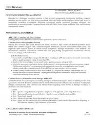 Awesome Client Service Manager Resume Resume Format Web