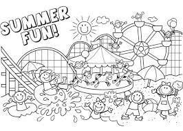 Small Picture Stunning Free Printable Summer Coloring Pages Ideas Coloring