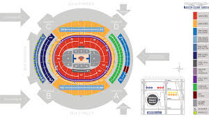 madison square garden seating chart and map knicks