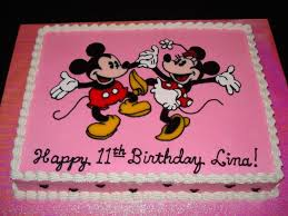 Mickey And Minnie Mouse Cake Cakecentralcom