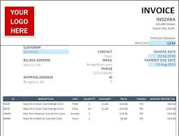 Sale Invoice Template Excel Download Free Free Sales Invoice Template For Excel Opusv Co