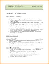 Ideas Of 8 Cv Programming Skills For Your Programming Skills Resume