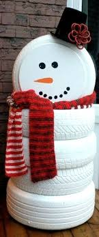 diy-outdoor-snowman-decorations - Pink Lover