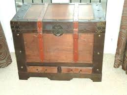 storage box coffee table chest trunk coffee table large wooden sea chest trunk storage box coffee