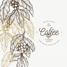 Branch Template Coffee Tree Branch Template Vector Premium Download