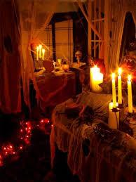 halloween party lighting. light and music halloween party decorating idea lighting