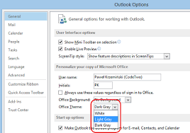 Changing Background Colors In Outlook 2007 2010 2013 2016