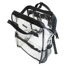 Capri Designs Backpack Amazon Com Capri Designs Hinge Top Heavy Duty Clear