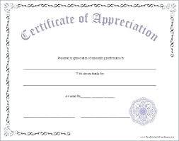Best Teacher Certificate Templates Free Best Certificates Of Appreciation For Teacher S Images On A
