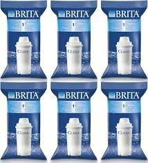 brita water filter replacement. Simple Water 6 X Brita Classic Water Filter Jug Cartridges Replacement Refill 4 Week  Original  With