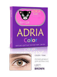 Цветные <b>линзы Color 1</b> tone (Колор) / 0,00 / 3 месяца Adria ...