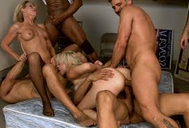 Gangbang and Orgy