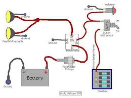 wiring diagram for relay for headlights the wiring diagram wiring fog lights to headlights nilza wiring diagram