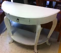 white foyer table. White Hall Table Foyer