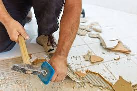 how to remove old tiles a step by step