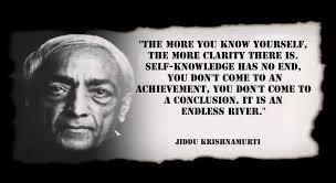 Jiddu Krishnamurti Quotes Unique Jiddu Krishnamurti Quote Love And AwarenessMilan Karmeli