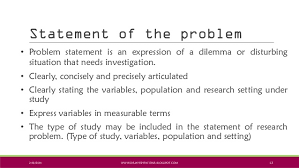 Research Problem Statement Research Statement Related Pages International Business School