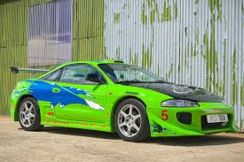 mitsubishi eclipse wallpaper. mitsubishi eclipse green car super fast and the furious wallpaper