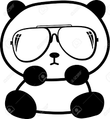 Small Picture Coloring Pages How To Draw Panda Face A Bear Cartoon Red Step By