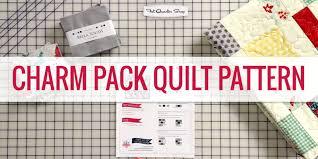 Charm Pack Quilt Pattern Video Tutorial + Free Quilt Pattern! & Charm Pack Quilt Pattern video tutorial Adamdwight.com