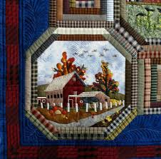 310 best Landscape and Pictorial Quilts images on Pinterest ... & The Secret Life of Mrs. Meatloaf: Detail from Jan Z. Farm quilt Adamdwight.com